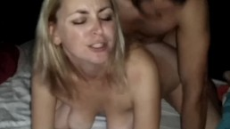 Double Creampie Wife Sharing Hubby Sloppy Seconds Cumlube Amateur Cuckold Spanish Slut Milf Two Creampies In Her Pussy