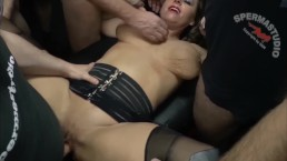Sexy Susi Creamie Gangbang Sloppy Seconds Cumlube Multiple Creampies SpermaStudio JAN 2018