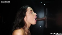 Gloryhole Blowjob Multiple Cocks Messy Cumshots Multiple Loads Cummy Mouth
